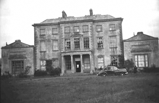 The Portico in Mungret College from Tervoe